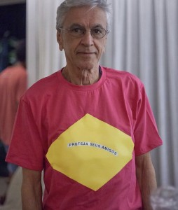 La foto postata dal compositore Caetano Veloso