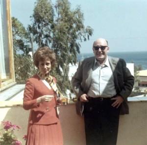 Con zio Cesare - apr. 1969