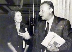 Zia Na con Paolo Borsellino