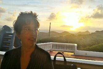 Maite Narvaez ora è diplomatica all'isola di Santa Lucia