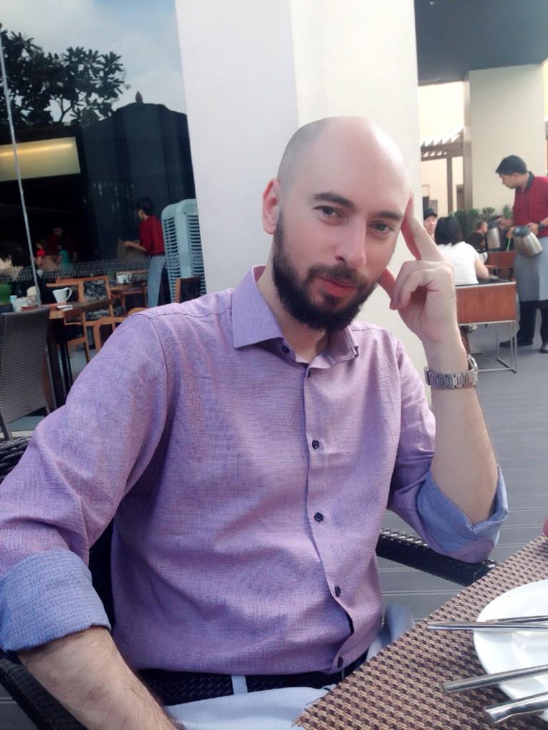 Marco Ruggieri per fare ricerca è emigrato in Cina