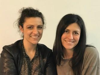 A sinistra Roberta Fuorvia, a destra Yvonne De Rosa