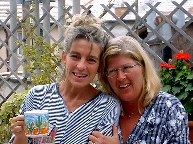 Le sorelle Maria Grazia e Rita