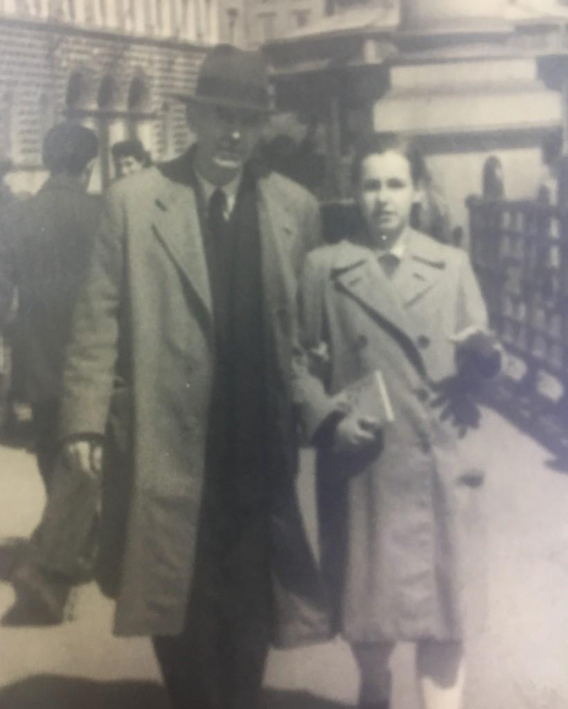 Francesca Boesch con padre André di origine russa
