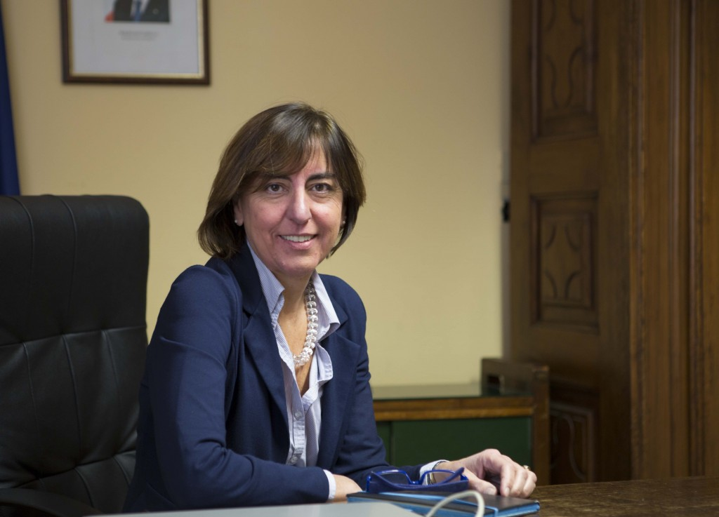 Matilde Casa, sindaco di Lauriano, in Piemonte