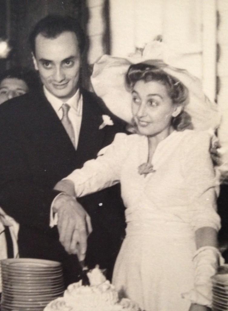 Lucia e Luigi il giorno del loro matrimonio