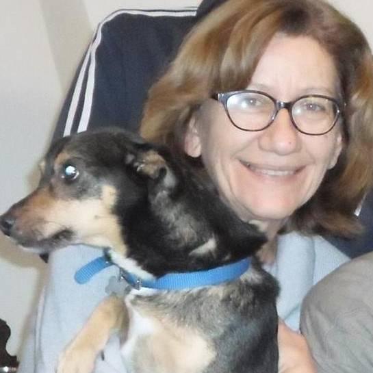 Silvia e il suo cane Jack