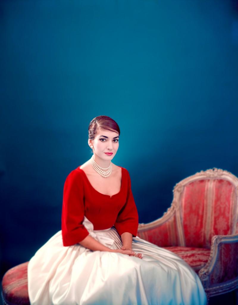 "Maria Callas in una delle immagini del documentario ""Maria by Callas"""