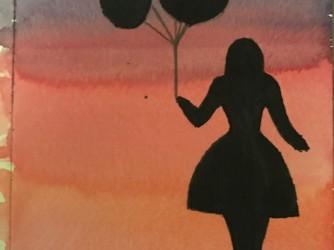Un acquerello dipinto da Costanza