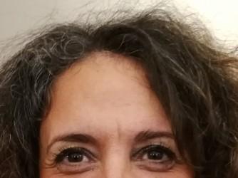 Valeria ha deciso di non tingersi più i capelli