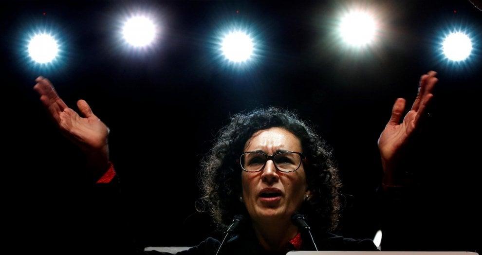 Marta Rovira ha scelto la strada dell'esilio per non finire in carcere