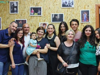 Francesco, Cosimo, Maria, Rosa D., Rosa S., Giovanni, Alice, Mariangela, Beatrice, Anna e Tiziana