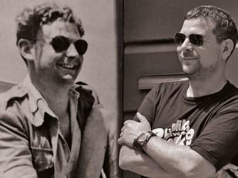 L'incredibile somiglianza fra Joe (a destra) e suo nonno