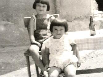 Rosanna e sua sorella che oggi soffre di forti disturbi psichiatrici