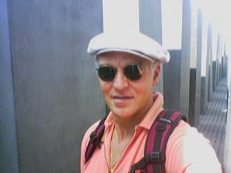 Candiano in un recente viaggio a Berlino
