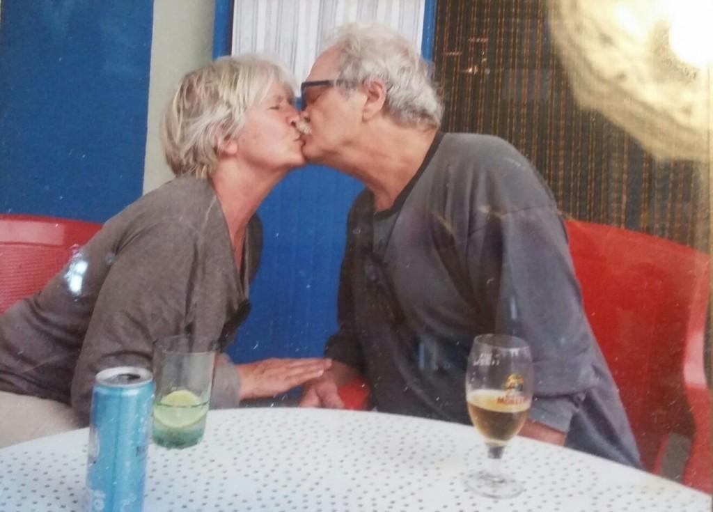 """Evelyn con il """"suo"""" Beppe, 48 anni insieme"""