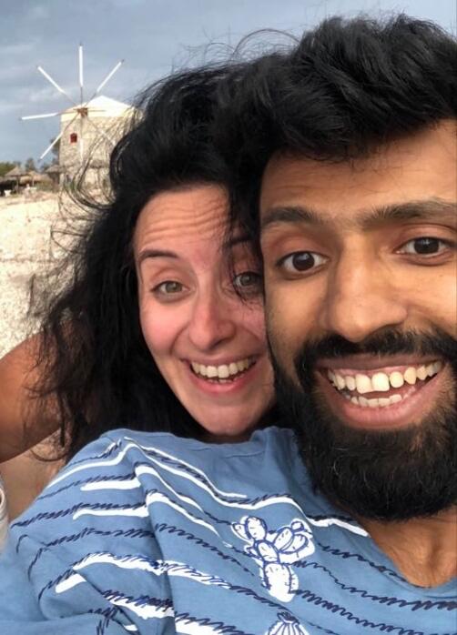 Sara e suo marito
