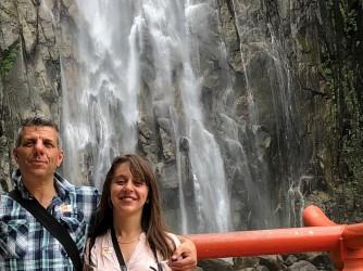 Vera con suo padre Alfio