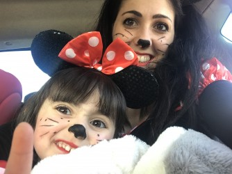 Marina con sua figlia Rebecca
