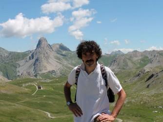 Fabio in montagna, quasi un luogo simbolo per la serenità che infonde