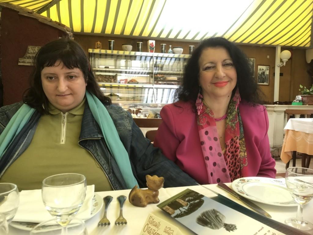 Marina con sua figlia Myriam morta a 38 anni pochi giorni dopo questa foto