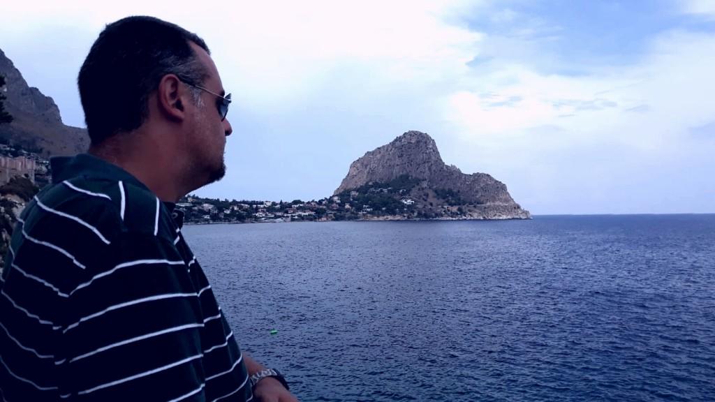 """Ferdinando a Capo Zafferano: """"Inviterei i sovranisti a vedere questa bellezza"""""""