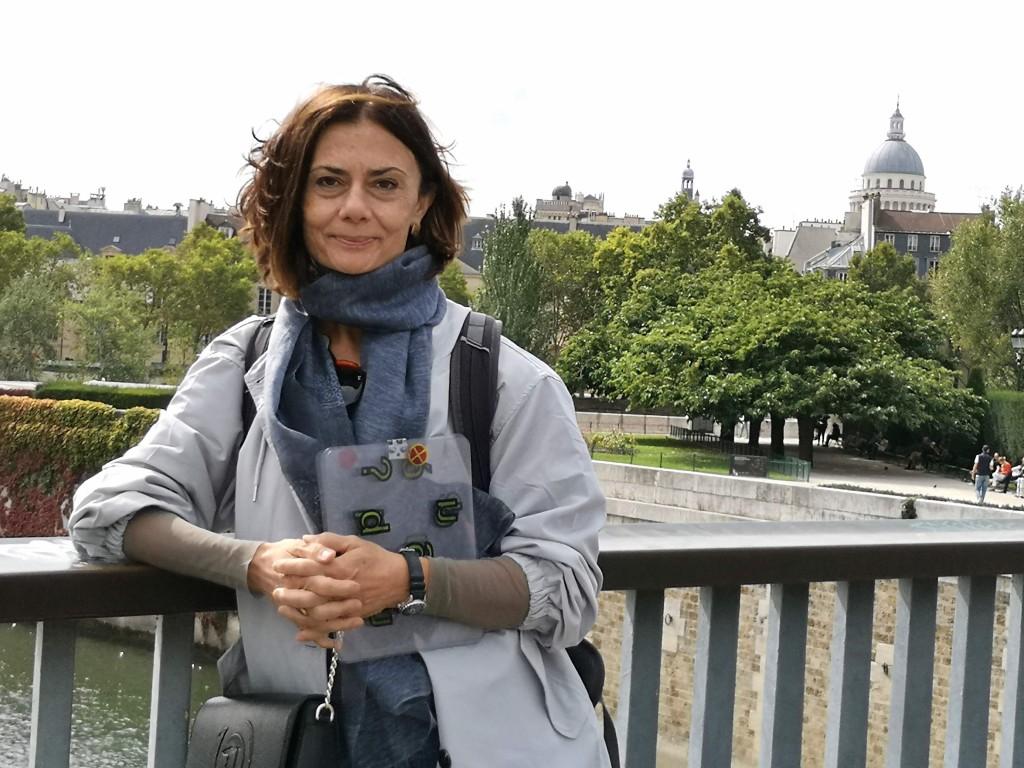 Maria Luisa insegna musica al Conservatorio di Santa Cecilia