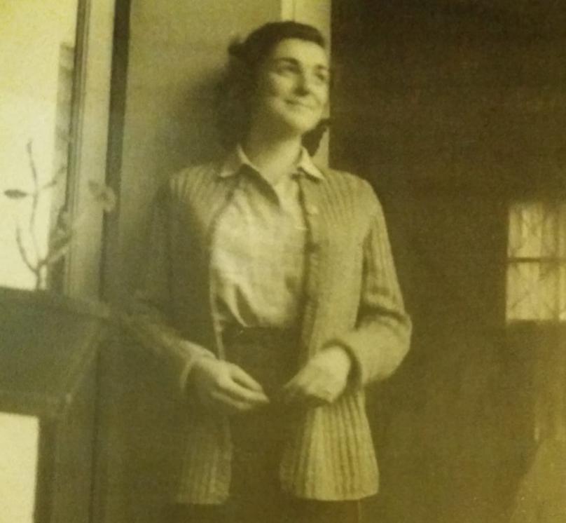 """Paola in un'immagine di tanti anni fa quando, come dice suo figlio """"era giovane e piena di speranze"""""""