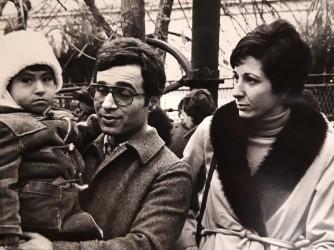 Pietro con Adele e la loro figlia Giovanna in una foto di tanti anni fa