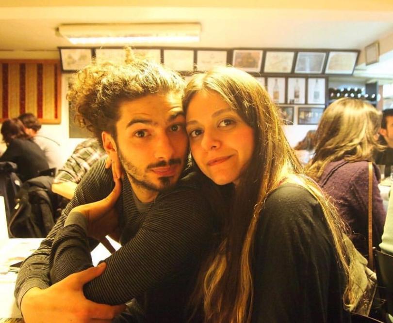 Marco e sua moglie Guliz, si sono conosciuti a Istanbul ora vivono in Germania