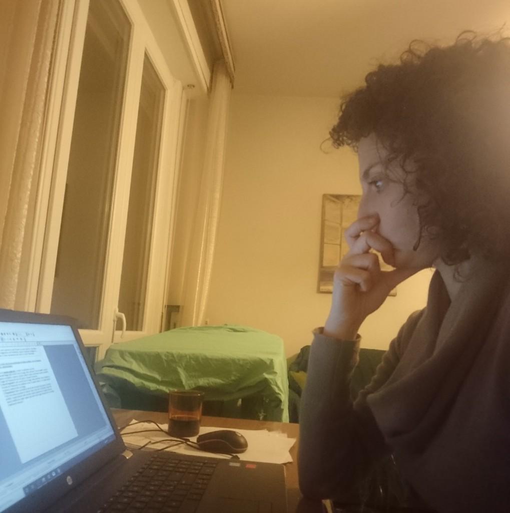 Francesca insegna, da precaria, alle scuole serali