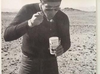 Paolo quando lavorava all'estero, qui è nel deserto  Rub al Khali in Arabia Saudita
