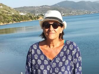 Gabriella sente forte il peso del disastro dell'accoglienza a Lesbo