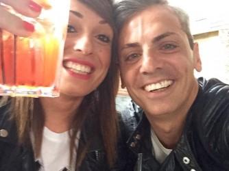 Luca con la moglie Laura, figlia di Raffaele, l'autore della lettera