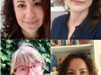 Elisabetta, Fiorella, Federica e Cristina quest'anno sono state a lungo colleghe precarie nella stessa scuola