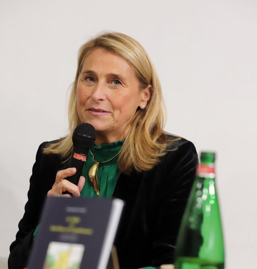 Benedetta è presidente del premio GreenCare per la tutela del verde a Napoli