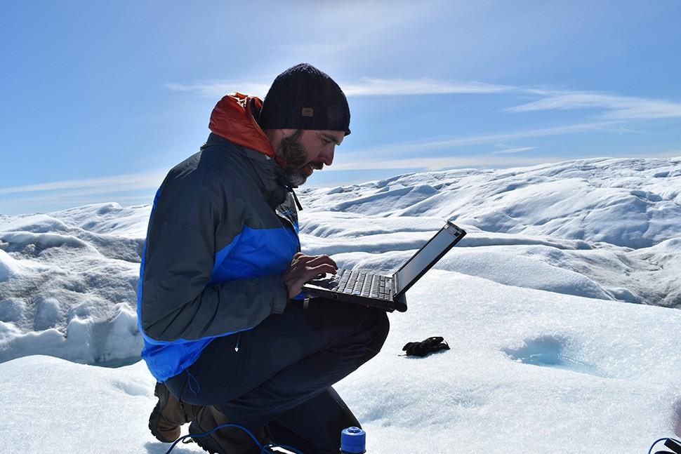 Marco per NASA GISS a New York si occupa della fusione delle calotte polari e del cambiamento climatico