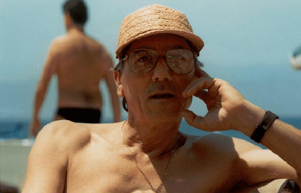 Cesare, il papà di Giuseppe, ha compiuto 89 anni a marzo, qui è ritratto in una foto di qualche anno fa