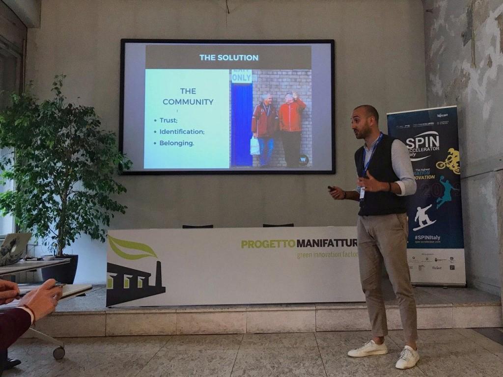 Paolo durante un convegno a Rovereto alla fine dello scorso anno