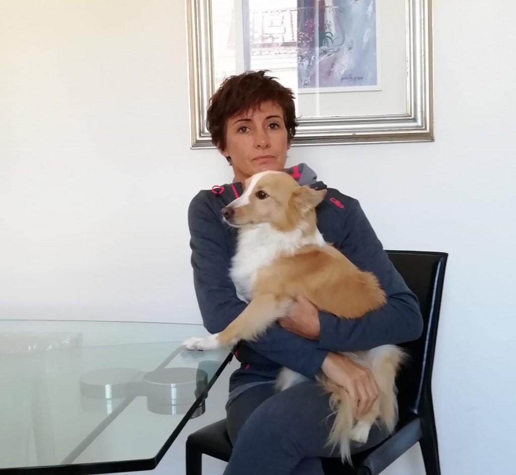 Federica ama gli animali e per lavoro si dedica alla loro cura