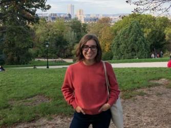 Carola era arrivata a Parigi per la sua laurea magistrale quando è scoppiata l'epidemia
