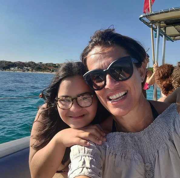 Martina e sua figlia Emma in una foto tratta da Instagram