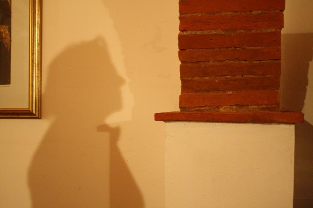 L'ombra di Giovanna su un muro, è questo che la violenza fa sentire: invisibili