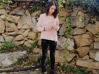 Valentina lavora nell'azienda vinicola di famiglia