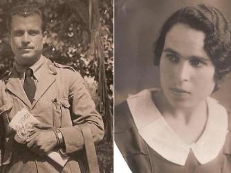 Giuseppe e Mimma, nati entrambi nel 1910, lui a Villa San Giuseppe Borghi e lei a Catona
