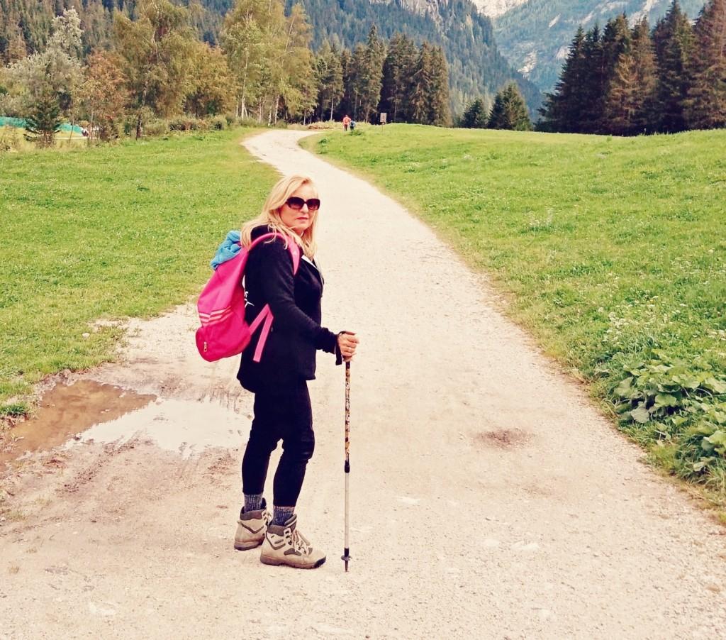 Daniela ama il teatro e passeggiare in montagna