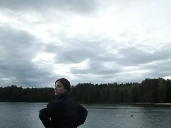 Irene durante un viaggio in Russia, un tempo che sembra lontanissimo