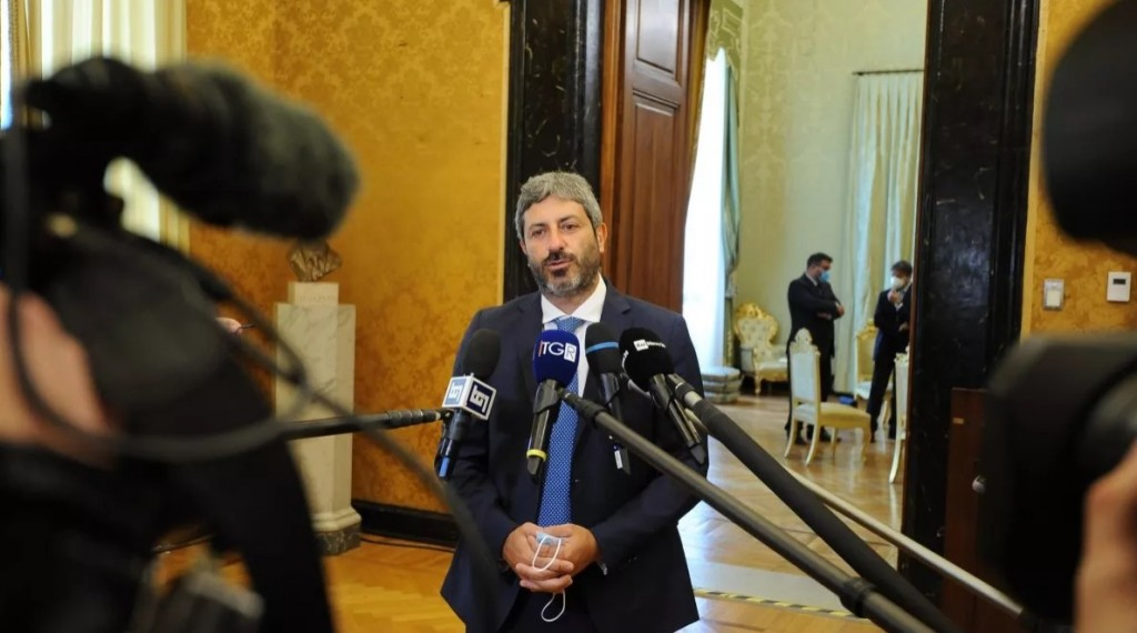 Roberto Fico, presidente della Camera, ha rinunciato al mandato esplorativo datogli dal presidente Mattarella