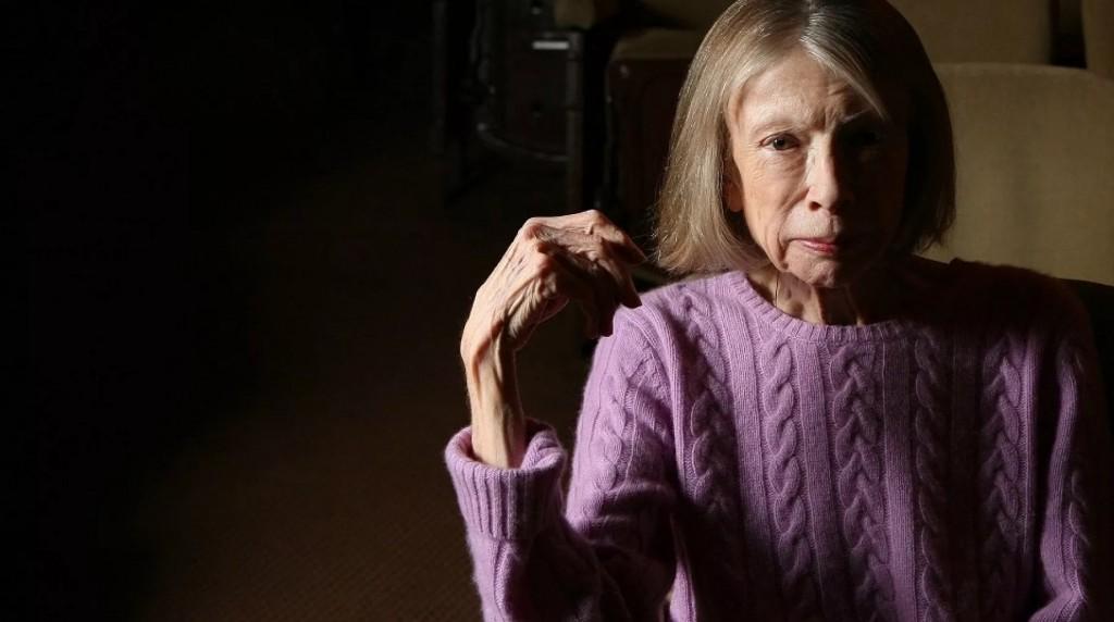 """La scrittrice e saggista americana Joan Didion, 87 anni, autrice di """"L'anno del pensiero magico"""""""