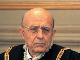Sabino Cassese quando vestiva i panni di giudice della Corte Costituzionale